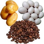 Potato Egg Coffee